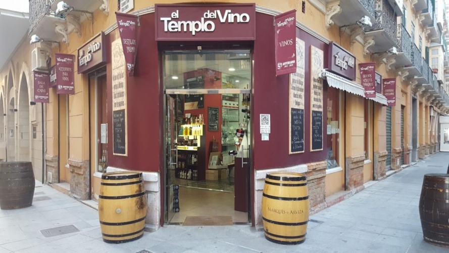 El Templo del Vino, en Málaga