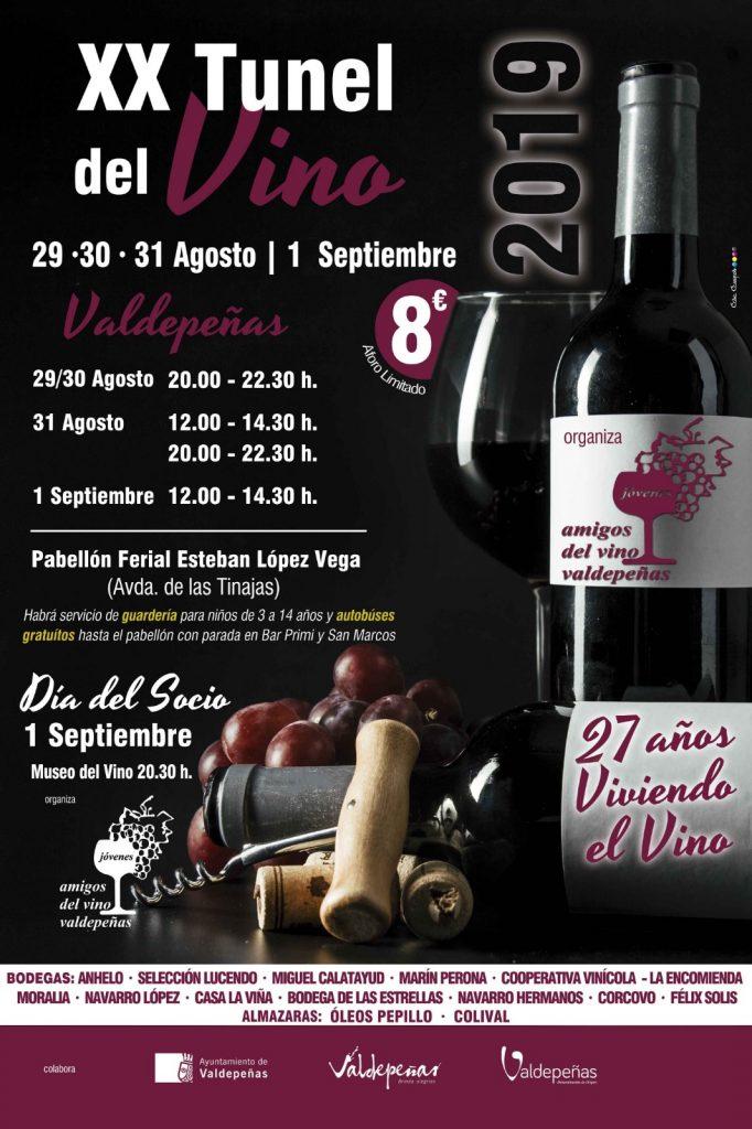 Fiestas Y Túnel Del Vino Valdepeñas 2019 Selección Lucendo